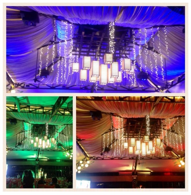 Lighting sets the mood in your chosen event