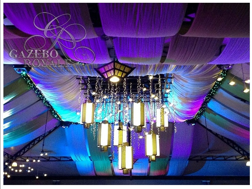 Mood set by the lighting inside Champagne Hall (2)
