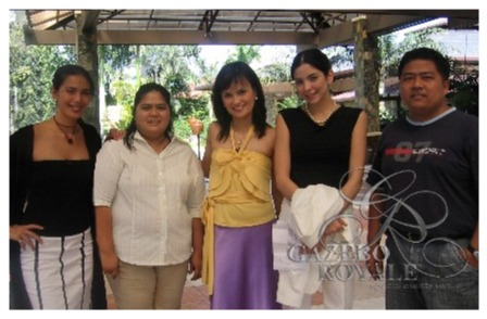 Ms Angel Aquino, Ms Daphne Osena and Ms Amanda Griffin