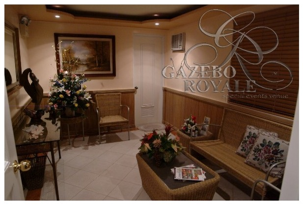 The VIP Room where the celebrant can change their clothes keep their valuables and use the powder room to freshen-up