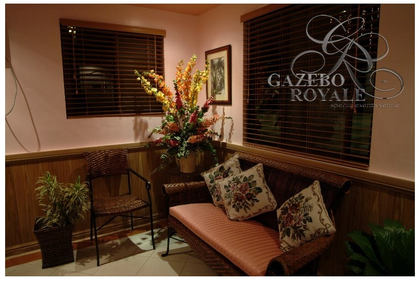 The VIP room where client may keep their valuables and freshen-up as they have their own powder room inside.
