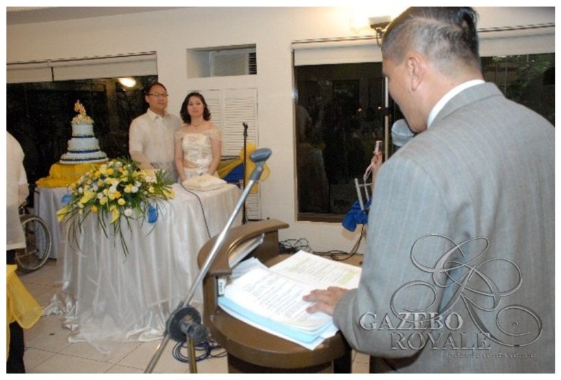 Wedding Ceremony and Reception at the Bamboo Grove